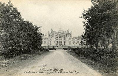 Chateau de Chambord - Facade septentrionale