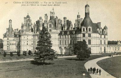 Vue sur la Facade nord de l'Hotel du Grand Saint-Michel