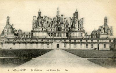Le Chateau - La facade Sud