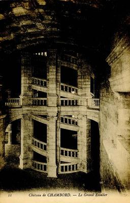 Chateau de Chambord - Le Grand Escalier
