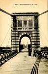 Pont suspendu sur la Loire
