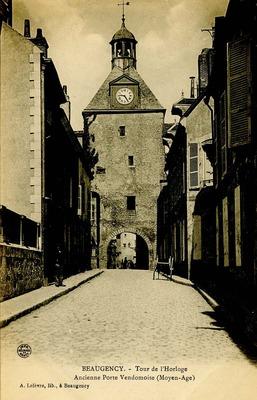Tour de l'Horloge Ancienne Porte Vendomoise