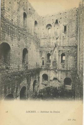 Intérieur du Donjon