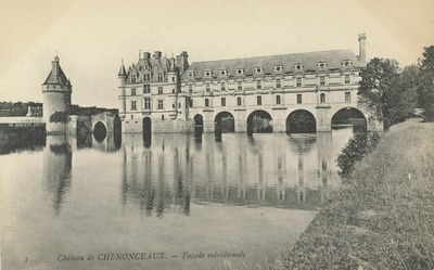 Cháteau de Chenonceaux - Façade méridionale