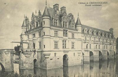 Cháteau de Chenonceaux - Façade occidentale