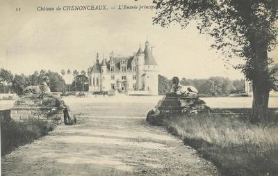 Cháteau de Chenonceaux - L'Entrée principale