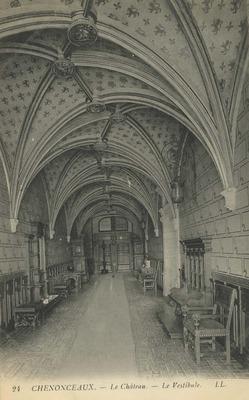 Cháteau de Chenonceaux - Le Vestibule