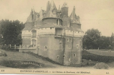 Le Cháteau de Rambures, cóté Méridional