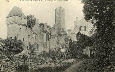 Cháteau de Creully - Façade ouest