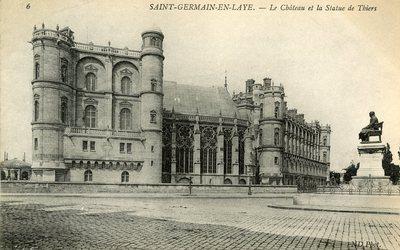 Le château det la Statue de Thiers
