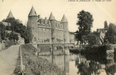 Château de Josselin - Façade sur l'Oust