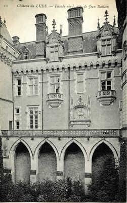 Château du Lude - Façade nord