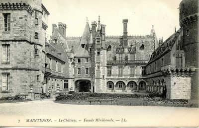 Le Château de Maintenon - Façade Meridionale
