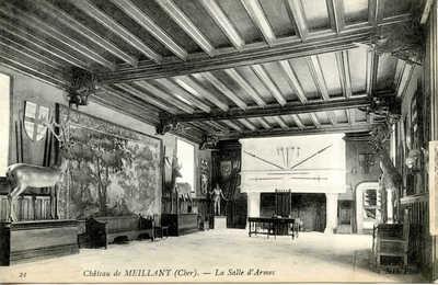 Château de Meillant - La Salle d'Armes