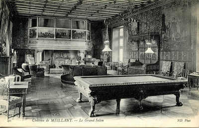 Château de Meillant - Le Grand Salon