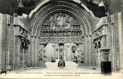 Musée de Sculpture Comparée - L'Eglise Saint-Pierre de moissac
