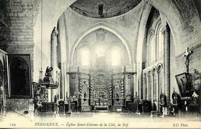 Eglise Saint-étienne de la cité, la Nef