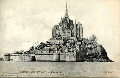 Mont Saint-Michel - Côté de l'est