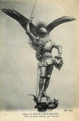 Abbaye du Mont Saint-Michel - Statue de Saint-Michel