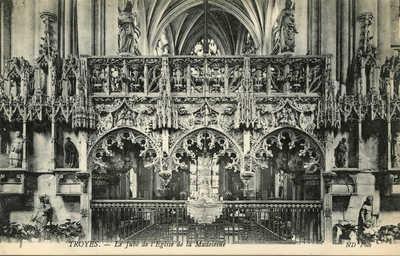 Le Jubé de l'Eglise de la Madeleine