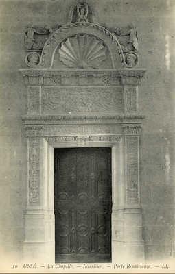 La Chapelle - Intérieur - Porte Renaissance