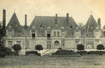 Chateau de Villes Avin - Facade Sud