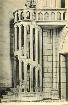 Notre-Dame, Escalier de la Chapelle
