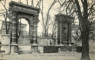 Ruines des Tuileries