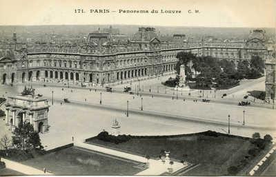 Panorama du Louvre