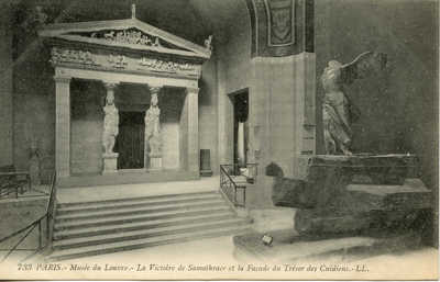 Musee du Louvre - La Victorie de Samothrace