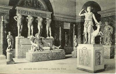 Musee du Louvre - Salle du Tibre