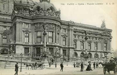 Opera - Facade Laterale