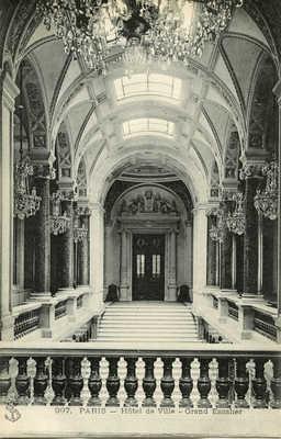 Hotel de Ville - Grand Escalier
