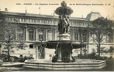 Le Square Louvois et la Bibliotheque Nationale