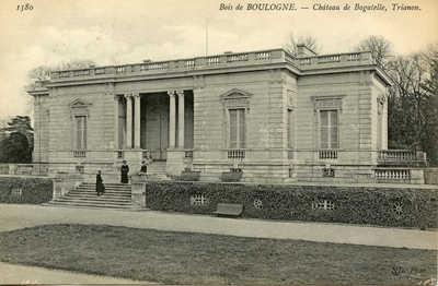 Chateau de Bagatelle, Trianon