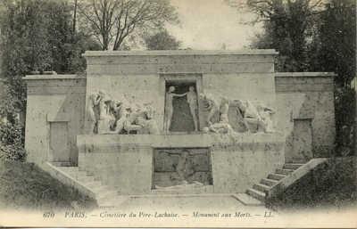 Cimetiere du Pere Lachaise - Monument aux Morts