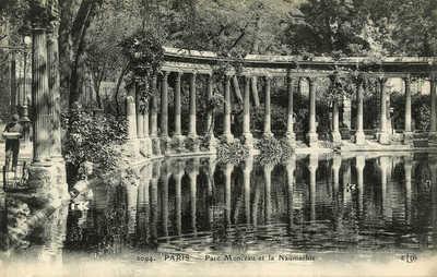 Parc Monceau et la Naumachie
