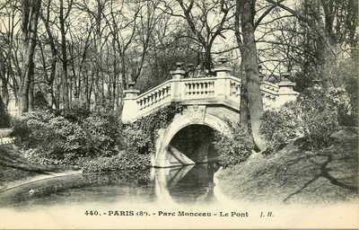 Parc Monceau - Le Pont