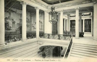 La Sorbonne - Pourtour du Grand Escalier