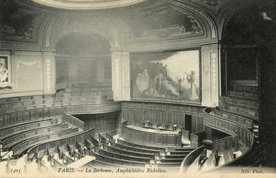 La Sorbonne - Amphitheatre Richelieu