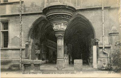 Musee de Cluny - Ensemble de la Chapelle