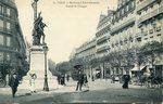 Boulevard Saint-Germain Statue de Chappe