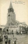 Église St-Germain-des-Prés Un Jour de Pluie