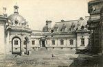 Château de Chantilly - Cour d'honneur et Entree du Musee Conde