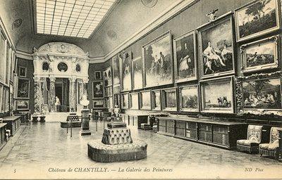 Château de Chantilly - La Galerie des Peintures