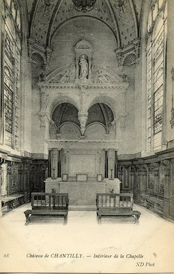Château de Chantilly - Interieur de la Chapelle