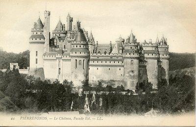 Château de Pierrefonds - Facade Est