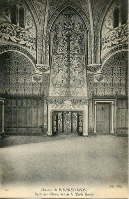 Château de Pierrefonds - Salle des Chevaliers de la Table Ronde