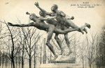 "Jardin du Luxembourg ""Le But"" Groupe"