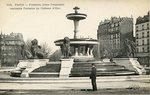 Fontaine, place Daumesnil Ancienne Fontaine du Chateau d'Eau